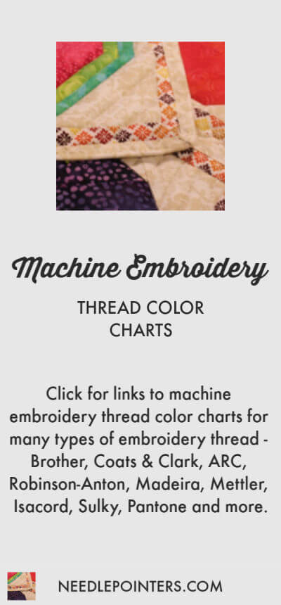 Thread Color Charts