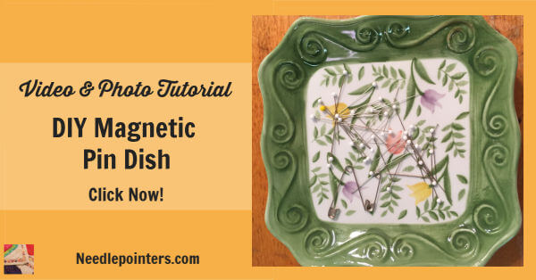 DIY Magnetic Pin Dish Tutorial