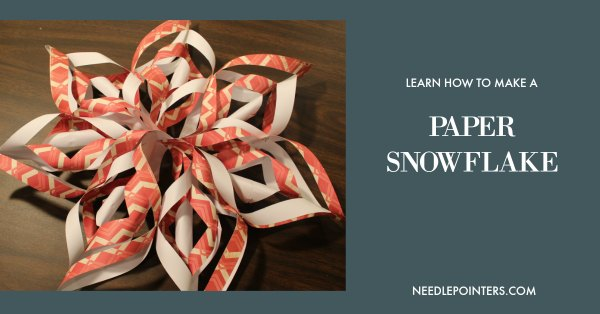 Make a Paper Snowflake - facebook ad