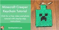 Minecraft Creeper Key Chain (Zipper Pull)