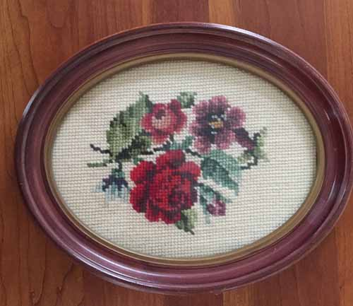 Needlepoint Flowers
