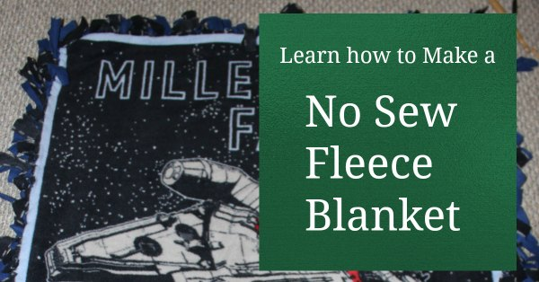 No-Sew Fleece Blanket