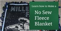 Fleece Blanket - No Sew Fleece Blanket