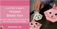 Bunny Face Origami
