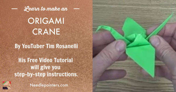 Easy Origami Crane Instructions | 314x600