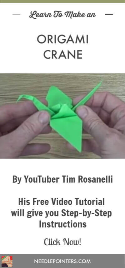 Origami ❀ Crane Flower ❀ - YouTube | 860x400