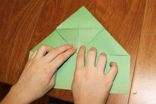 Origami Frog: Step 10