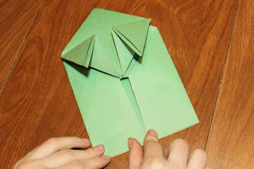 Origami Frog: Step 12