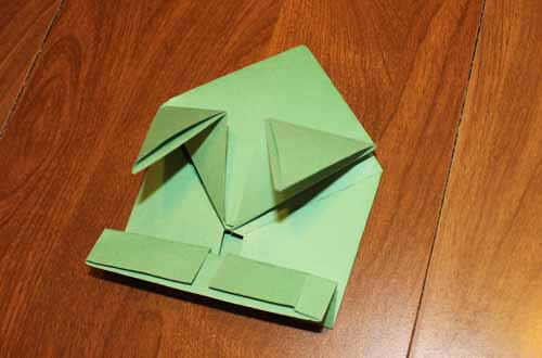 Origami Frog: Step 15