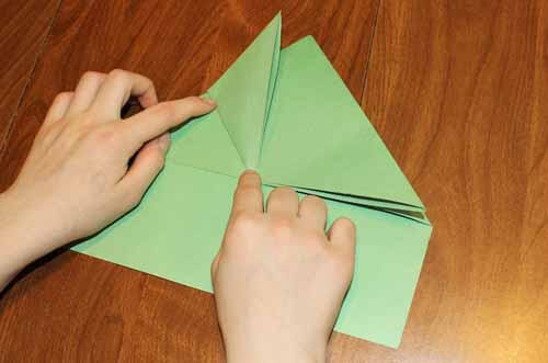 Origami Frog: Step 8