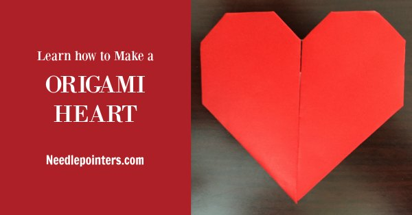 Valentine's Day Origami Heart