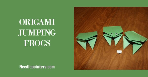BBC Taster - Make-along: Origami Jumping Frog | 314x600