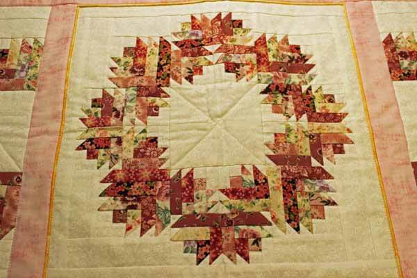 Paper Pieced Quilted Table Runner
