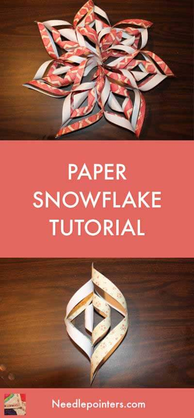 Paper Snowflake Tutorial - pin