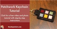Patchwork Key Ring (Zipper Pull)