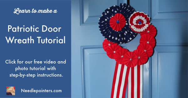Patriotic Wreath - Finished