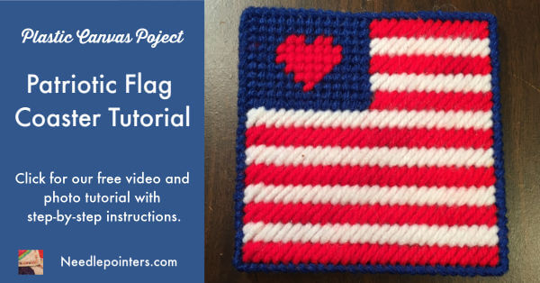 Patriotic Flag Coaster - Facebook Ad