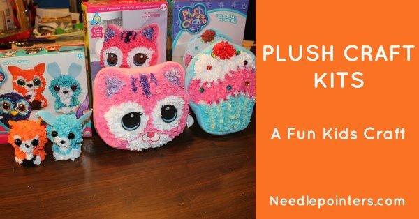 Plush Craft Fabric Fun Woodland Friends
