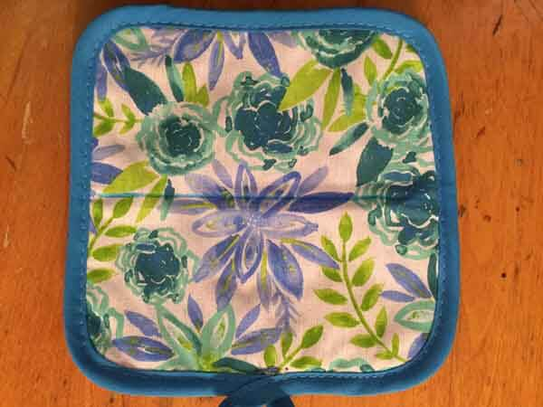 Potholder Dish Towel - Potholder Marked
