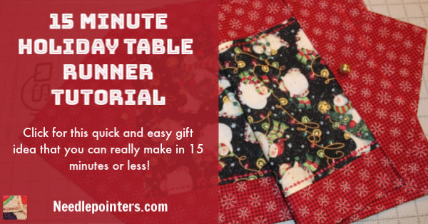 Quick Table Runner - Christmas Runner Facebook 2019 ad