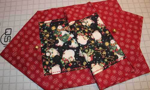 Quick Table Runner - Finished Table Runner