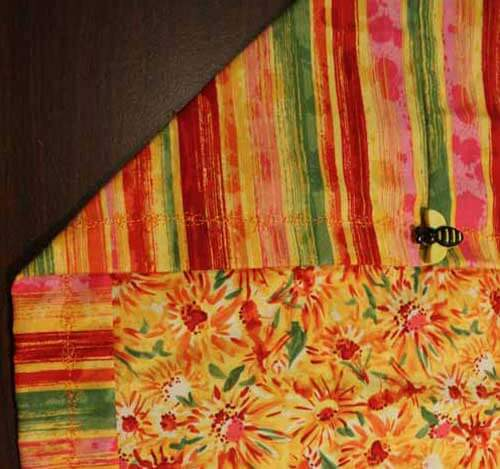 Quick Table Runner - Table Runner Closeup