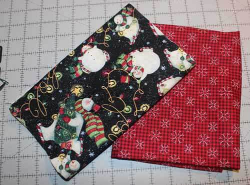 Quick Table Runner - Fabrics