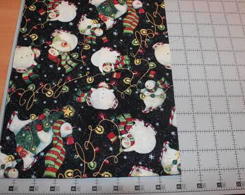 Quick Table Runner - Cut Feature Fabric