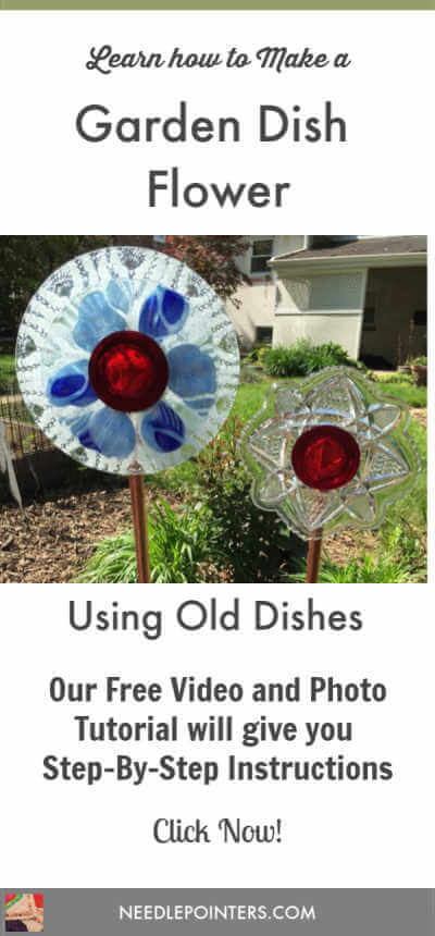 Garden Glass Flowers - Another Pin