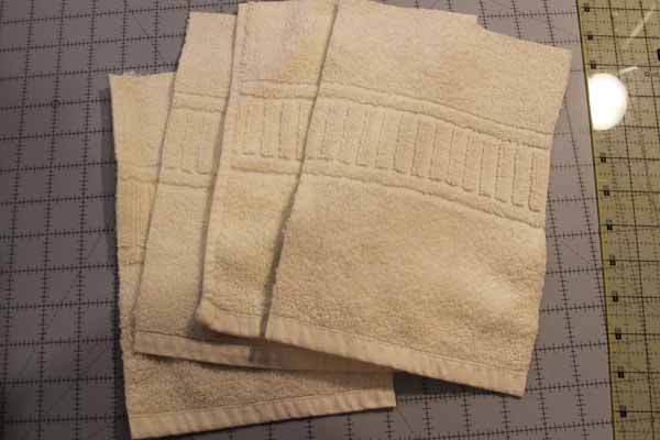Reusable Unpaper Towels - Cut Sections