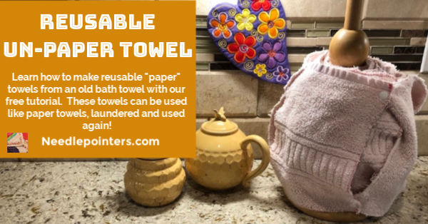 Reusable Un-paper Towel Tutorial - fb