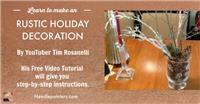 Rustic Holiday Decoration
