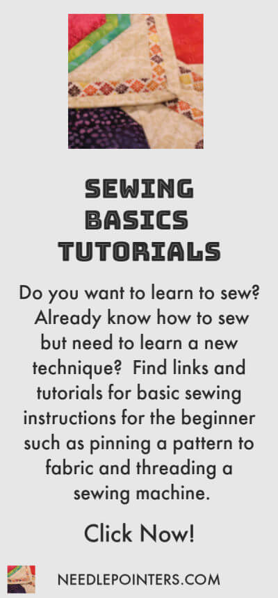 Sewing - Basics