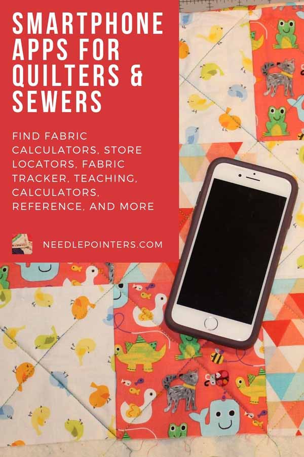 Apps for Quilters & Sewers (iPhone, iPad)