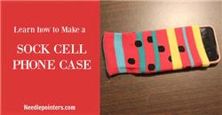 Cell Phone Case - Sock Cell Phone Case