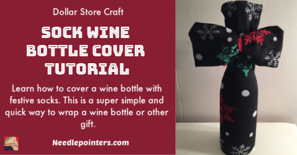 Wine Bottle Sock Cover 2019 - facebook
