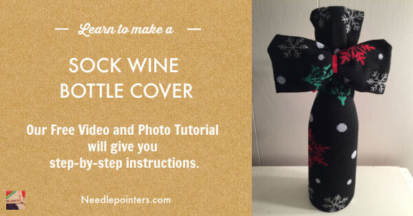 Wine Bottle Sock Bag
