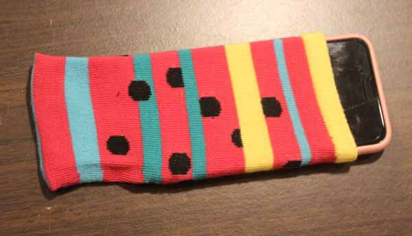Sock Cell Phone Case Tutorial