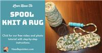 Rug - Spool Knitted Rug