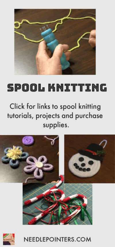 Spool Knitting Tutorials and Free Projects