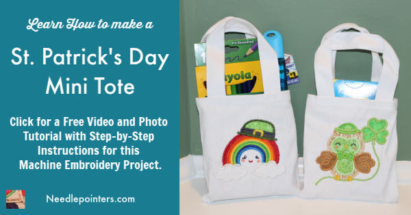 St Patricks Day Mini Tote Tutorial