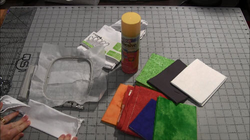 St Patricks Day Mini Tote Tutorial - Fold Bag To Crease