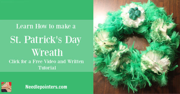Saint Patricks Day Wreath Tutorial