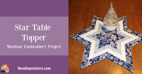 Star Table Topper