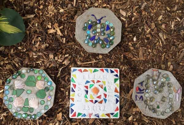 Stepping Stone Tutorial - Multiple Stepping Stones in Garden