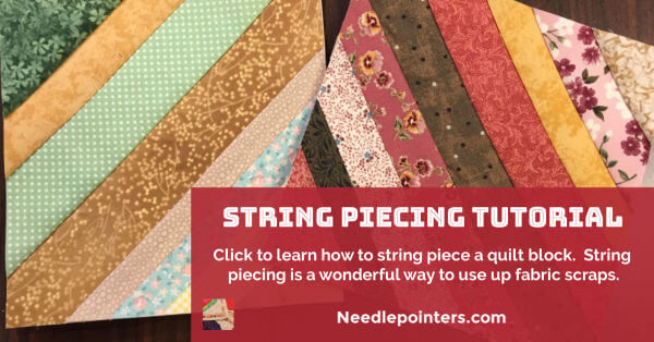 String Piecing Tutorial - facebook
