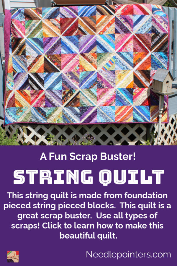 String Quilt - pin