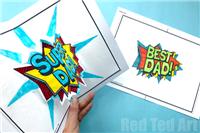 Pop Up Best Dad Cards