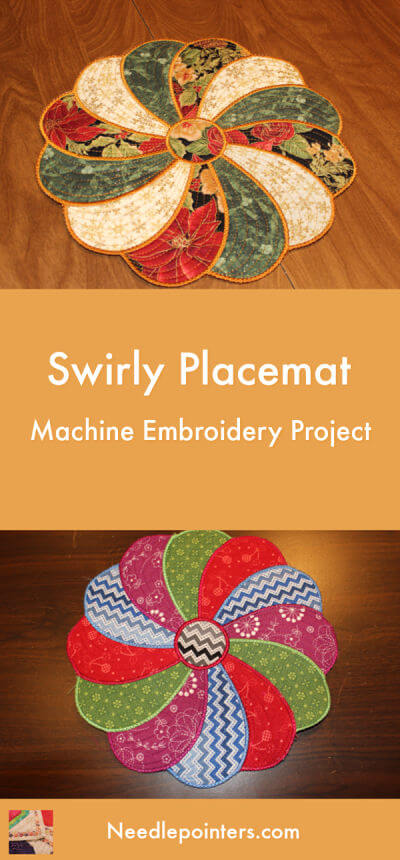Swirly Placemat