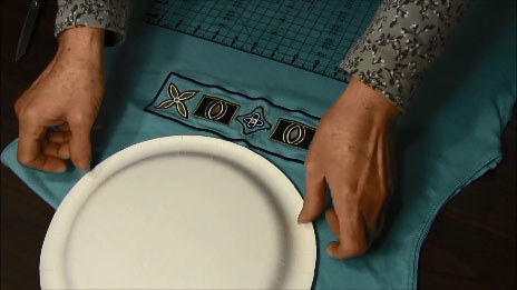 How to make a t-shirt tote bag - Plate Template